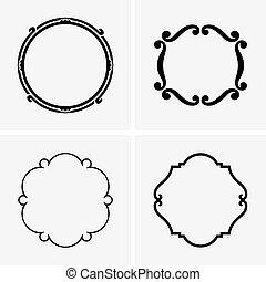 框架, 輪