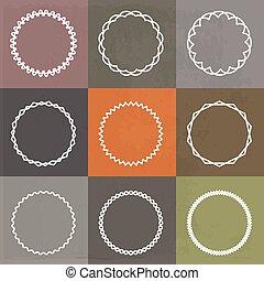 框架, 集合, 輪