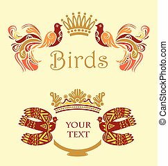 框架, 鳥