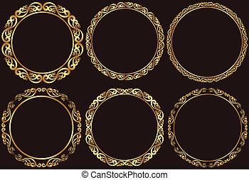 框架, 黃金