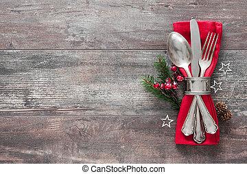 桌子放置, 地方, 圣诞节
