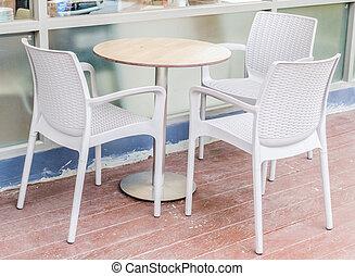 桌子, 以及, 椅子