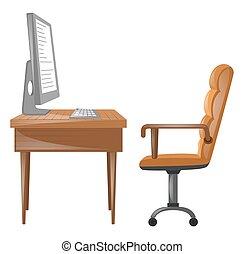 桌子, 電腦