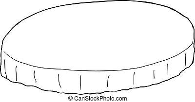 桌布, 概述, 輪