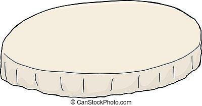 桌布, 被隔离, 輪