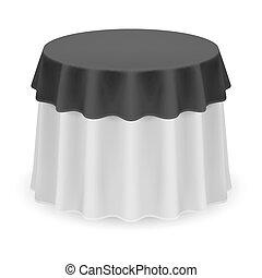 桌布, 輪