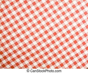 桌布, texture-checked, 織品