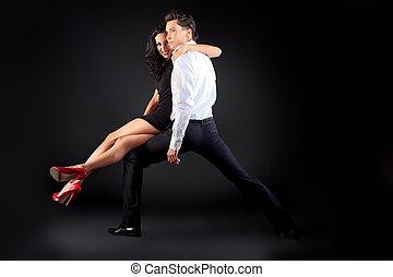桑巴舞, 跳舞