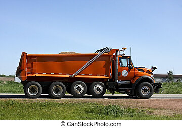 桔子, 堆存处卡车