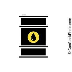 桶, 油, 圖象, 套間