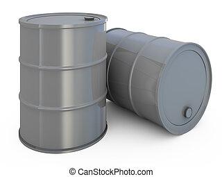 桶, 被隔离, 在懷特上
