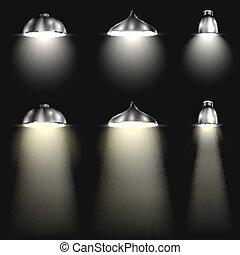 梁, 聚光燈, 類型, 三
