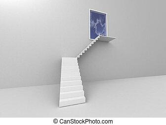 梯子, 主要, 到, the, 光, 以及, 天堂