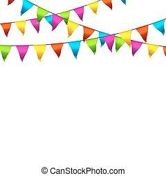 棉經毛緯平紋呢, 旗, 鮮艷