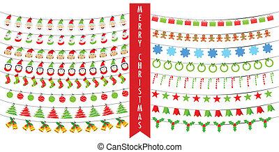 棉經毛緯平紋呢, 聖誕節