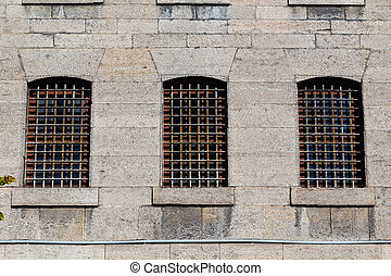 棒を備えた窓