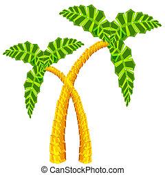 棕櫚樹, 3d