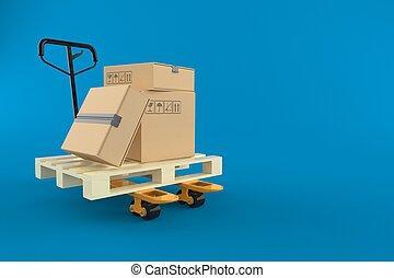棘瓜卡車, 箱子