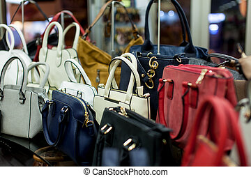 棚, ファッション, 袋