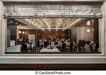森林地帯, ホテル, -, レストラン