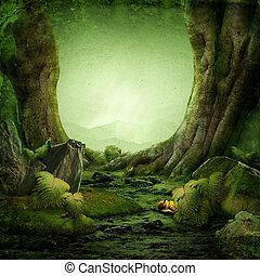 森林, 夢みるように