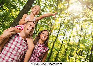 森林, 家族