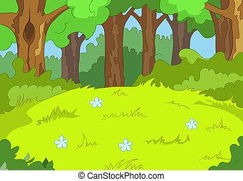 森林, 林间空地