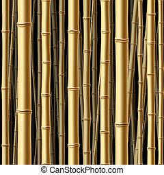 森林, seamless, 竹子