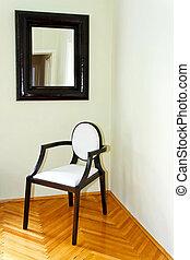椅子, そして, 鏡