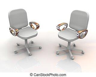 椅子, オフィス