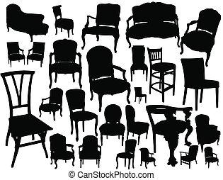 椅子, コレクション