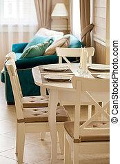 椅子, 反響室, テーブル, ソファー