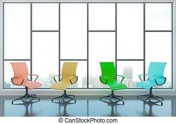 椅子, 旋回装置, 部屋