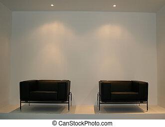 椅子, 飾り付ける, amchair, 考え