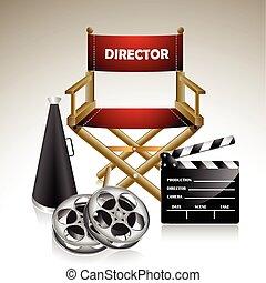 椅子, director's
