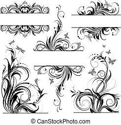 植物群, 装饰物
