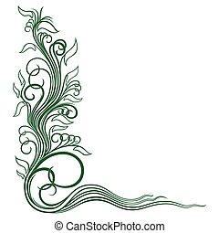 植物群, 角落, 装饰物