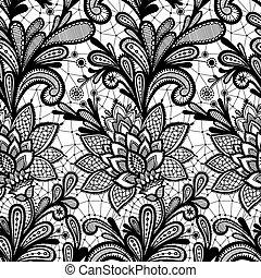 植物群, pattern., seamless, 带子
