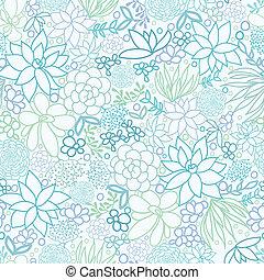植物, みずみずしい, seamless, 背景 パターン