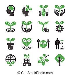 植物, アイコン