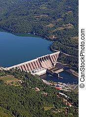 植物, 力, セルビア, 水力電気, 川, perucac