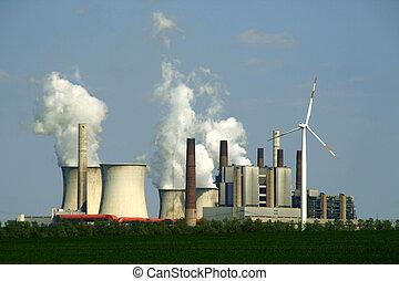 植物, 力, coal-burning