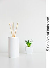 植物, 家, 香水, 緑, ディフューザ, におい