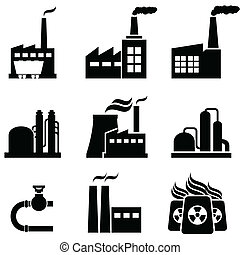 植物, 建筑物, 工业, 力量, 工厂