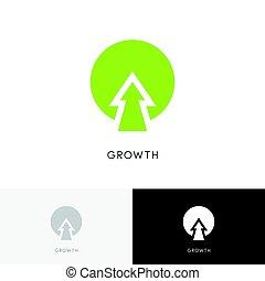 植物, 成長, 標識語
