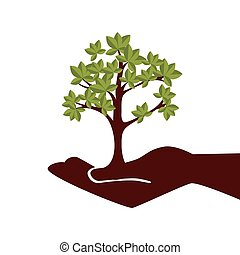 植物, 木, 人間の術中