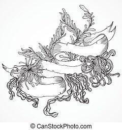 植物, 海洋, 海草, コレクション