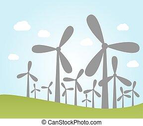 植物, 風力
