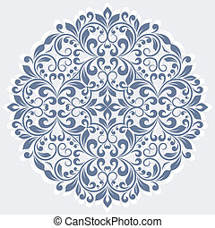 植物, pattern., 輪