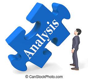 検査, 分析, 検出, レンダリング, 3d, データ, ショー